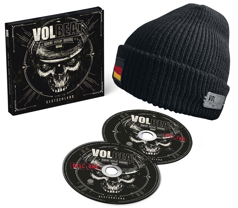 Image of Volbeat Rewind, replay, rebound: Live in Deutschland 2-CD & Beanie Standard