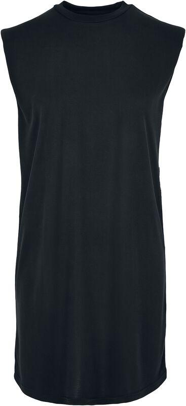 Ladies Modal Padded Shoulder Tank Dress