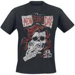 New Years Day Faceless Red Head