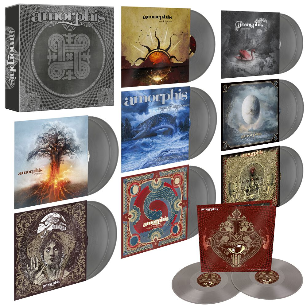 Image of Amorphis Vinyl Collection 2006 -2020 17-LP silberfarben