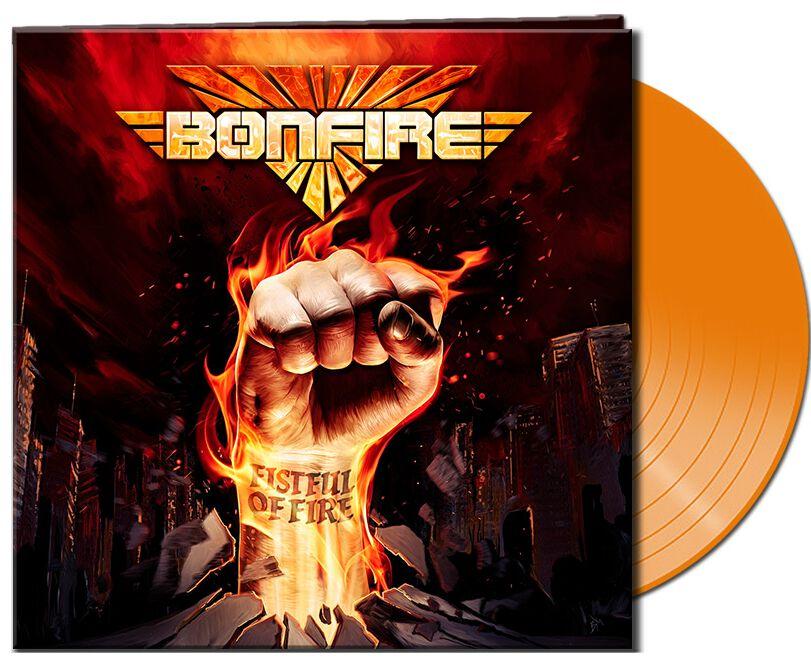 Bonfire Fistful of fire LP orange AFM 7331