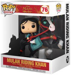 Mulan on Khan POP! Rides Vinyl Figur 76