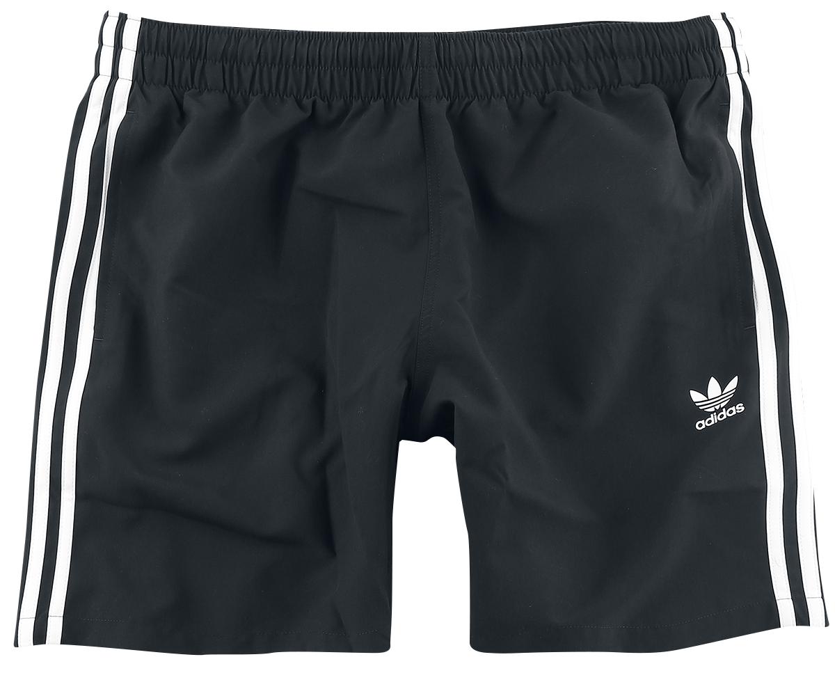 Adidas - 3 Stripe Swims - Swim trunks - black image