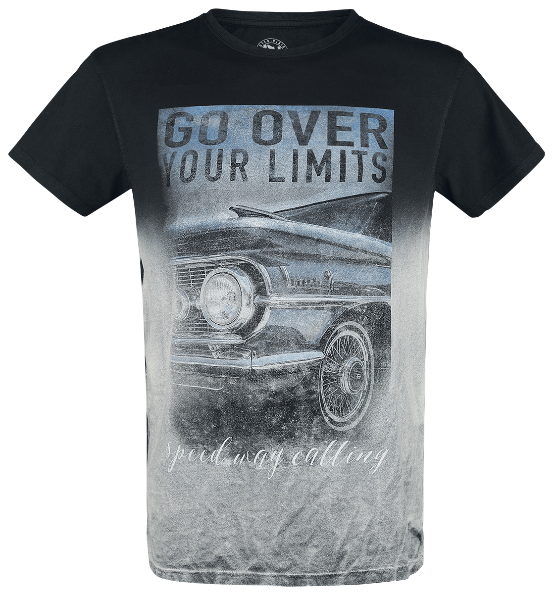Outer Vision - Go Over Your Limits - T-Shirt - black image