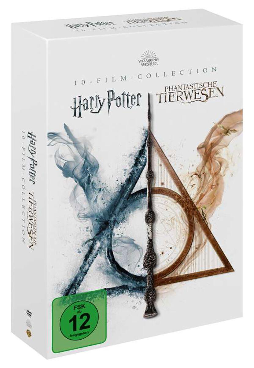 Image of Wizarding World Harry Potter & Phantastische Tierwesen (10-Film-Collection) 13-DVD Standard