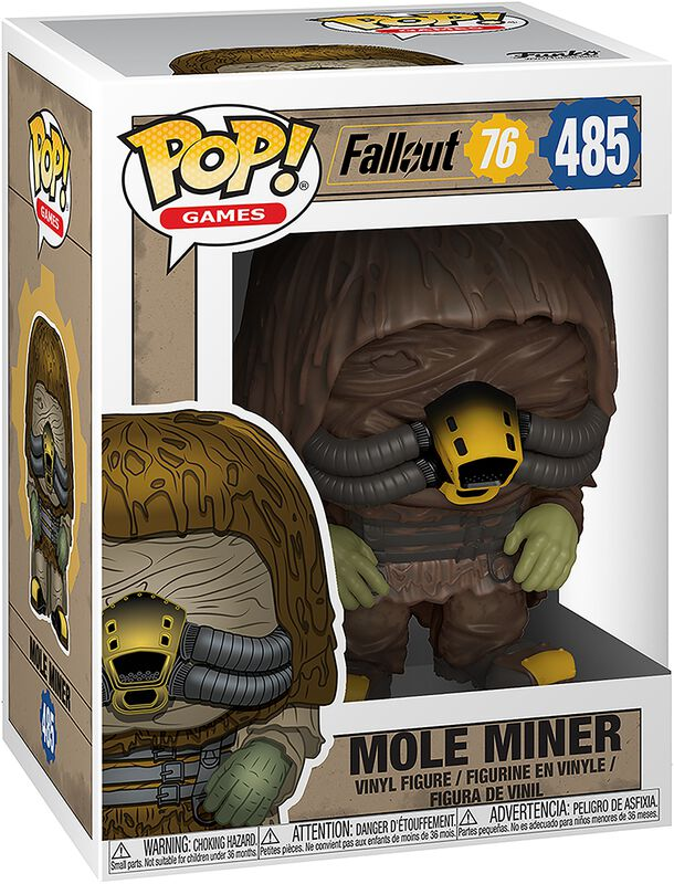 76 - Mole Miner Vinyl Figure 485