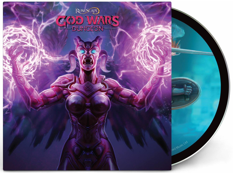 RuneScape RuneScape: God wars dungeon O.S.T. CD multicolor LMCD86