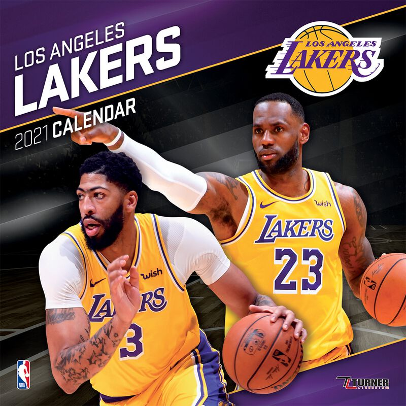 Los Angeles Lakers - Kalender 2021