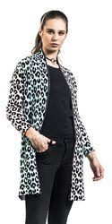 Multi-Pastel Leopard Print Cardigan