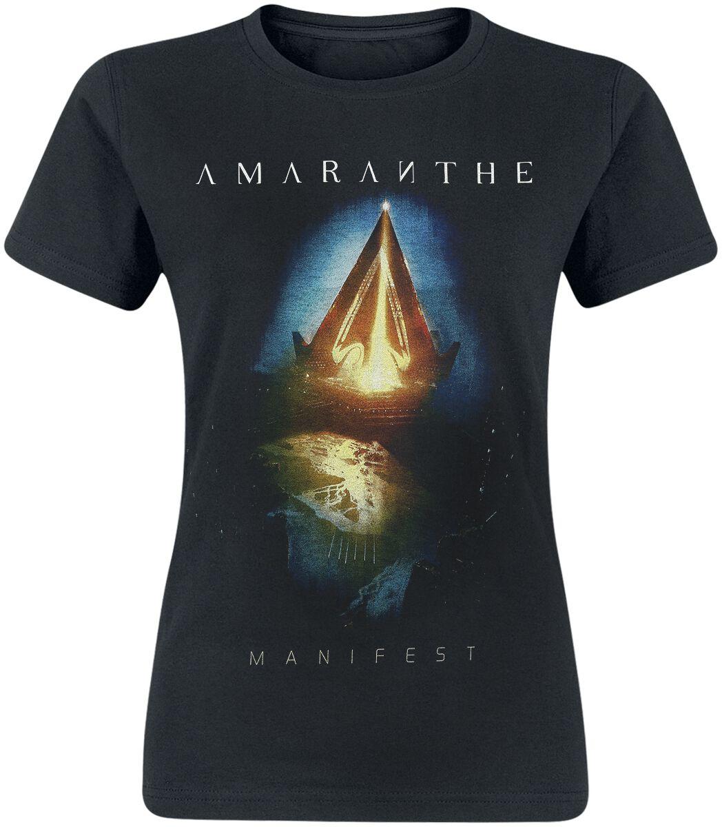 Image of Amaranthe Manifest Girl-Shirt schwarz