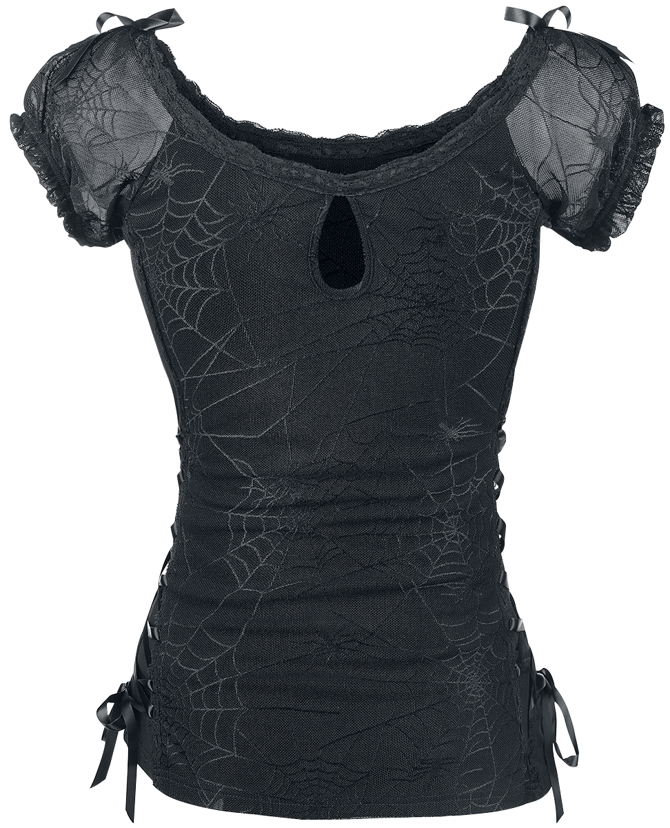 Banned - Spider - Girls shirt - black image