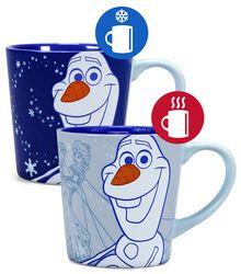 Olaf - Tasse mit Thermoeffekt