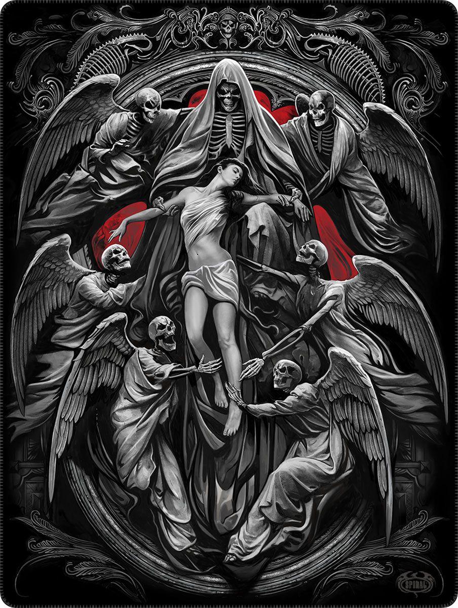 Spiral Reaper's Door  Decke  schwarz