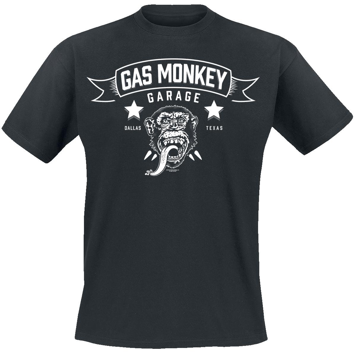 Gas Monkey Garage - Blood, Sweat & Beers - T-Shirt - black image