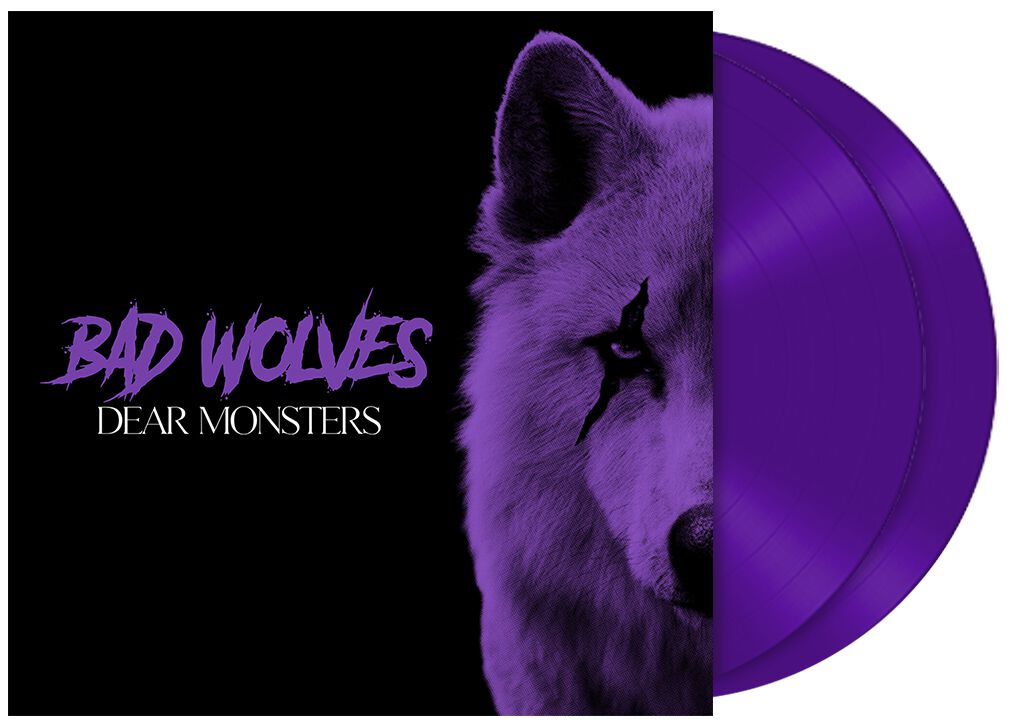 Image of Bad Wolves Dear Monsters 2-LP purple