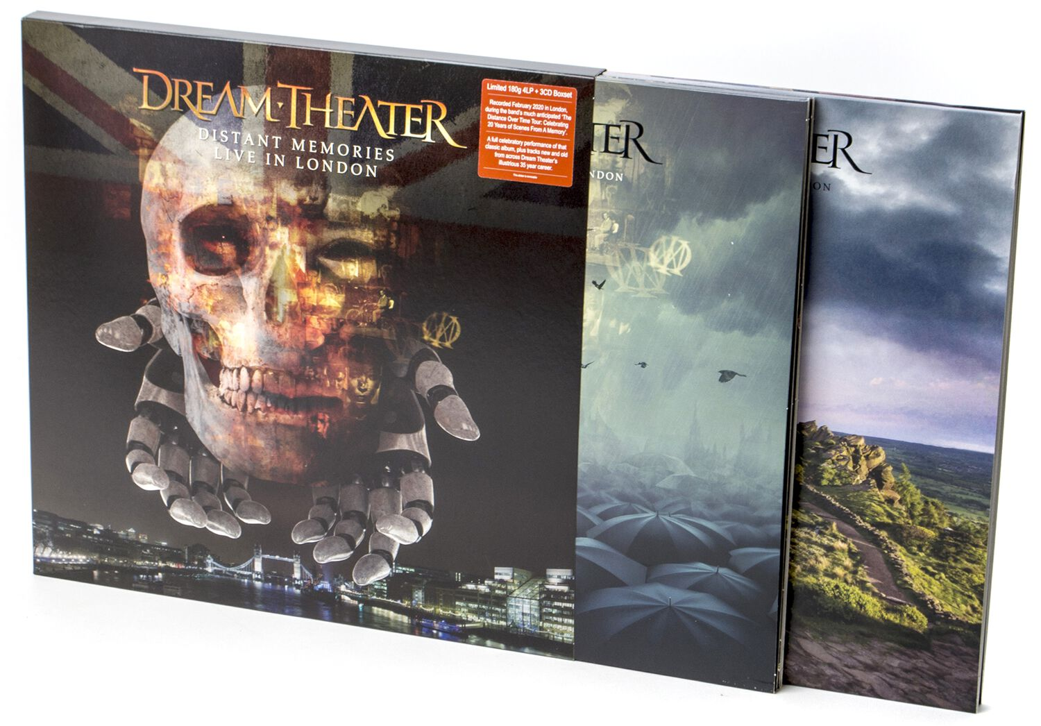 Image of Dream Theater Distant memories - Live in London 4-LP & 3-CD Standard