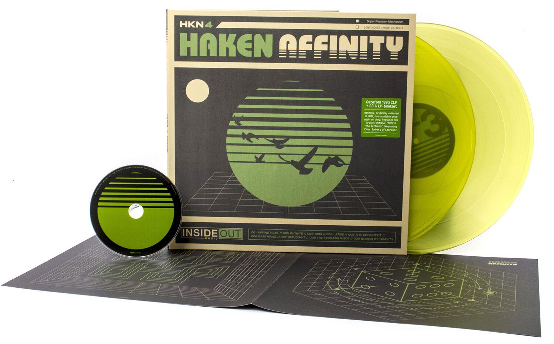 Image of Haken Affinity 2-LP & CD farbig
