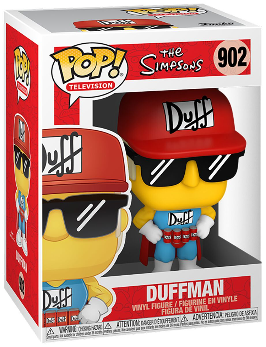 Die Simpsons Duffman Vinyl Figur 902 powered by EMP