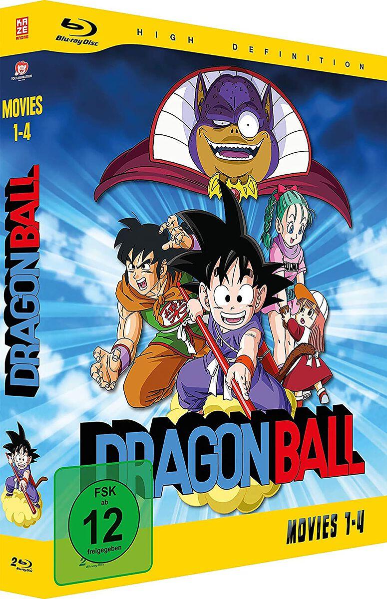 Image of Dragon Ball Movies - Gesamtausgabe 2-Blu-ray Standard