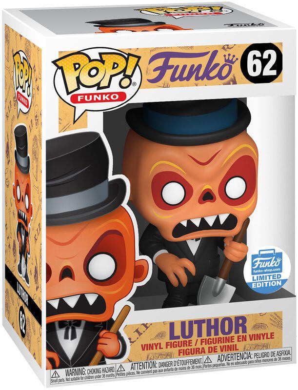 Fantastik Plastik Luthor (Funko Shop Europe) Vinyl Figur 62