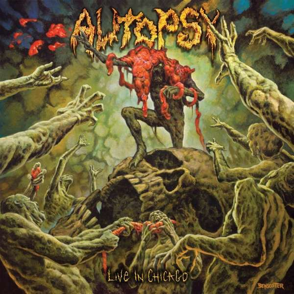 Image of Autopsy Live in Chicago CD Standard