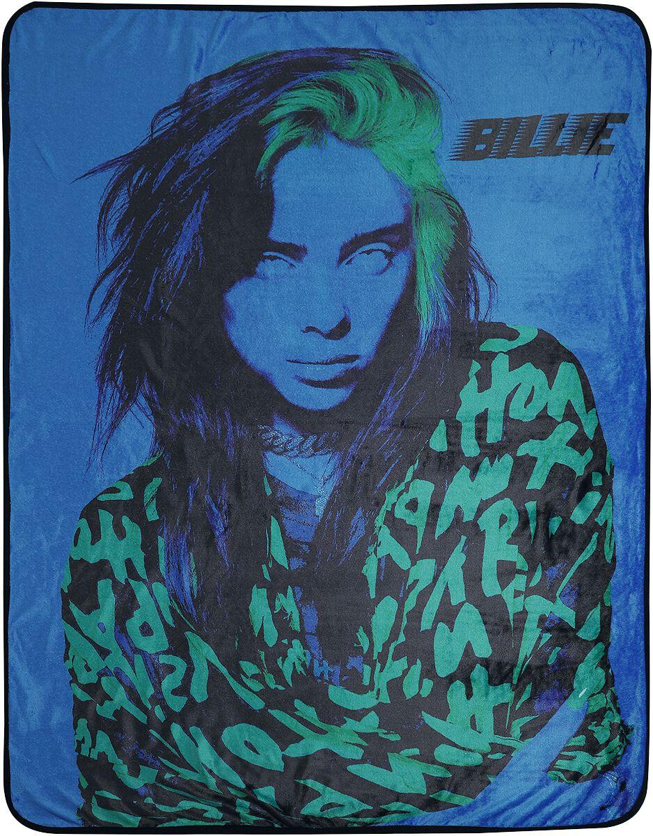 Billie Eilish   Decke  multicolor