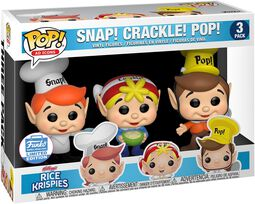 Kellogg's Snap Crackle Pop - Rice Krispies (3 Pack) (Funko Shop Europe)