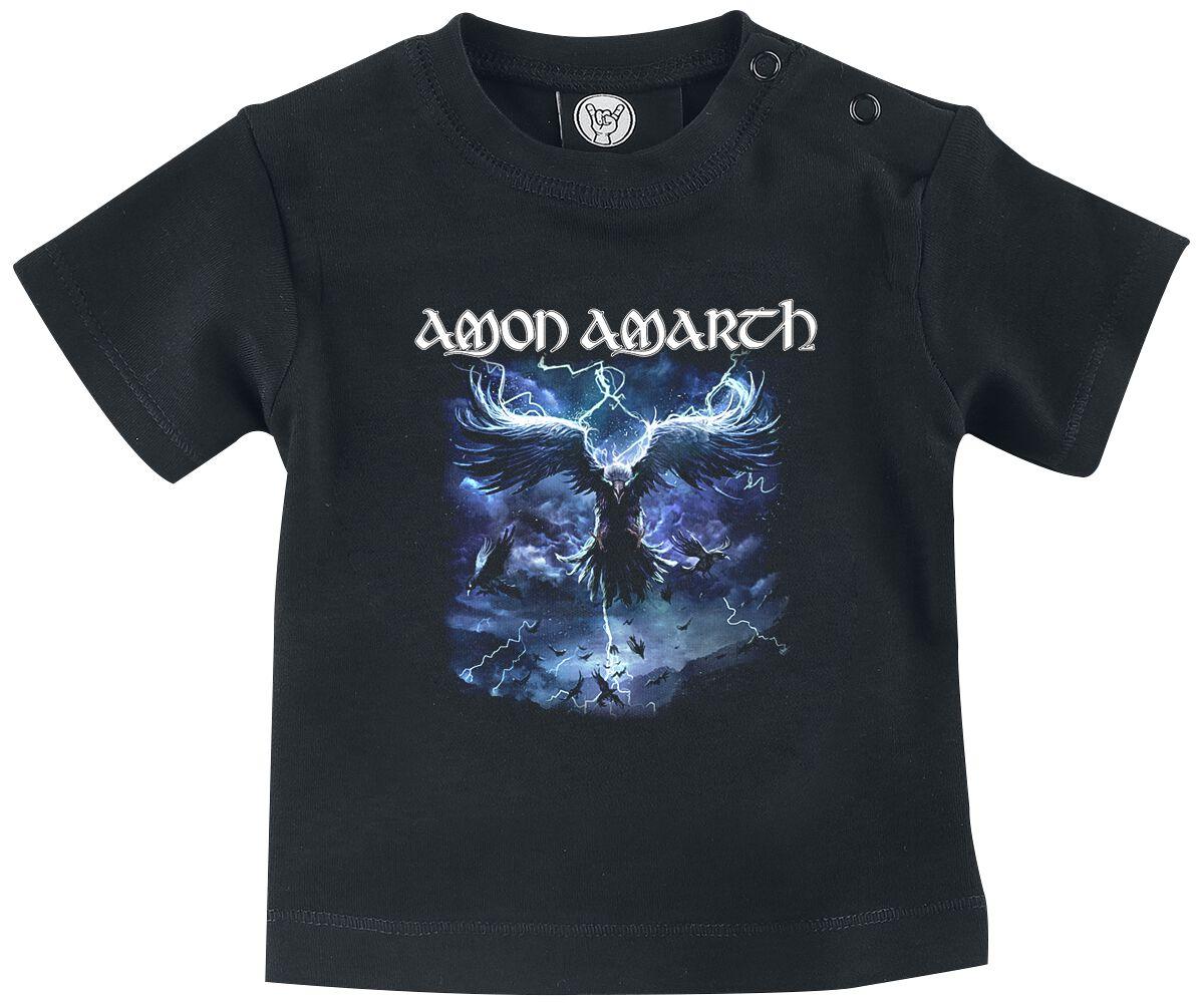 Image of Amon Amarth Ravens Flight Baby Baby-Shirt schwarz