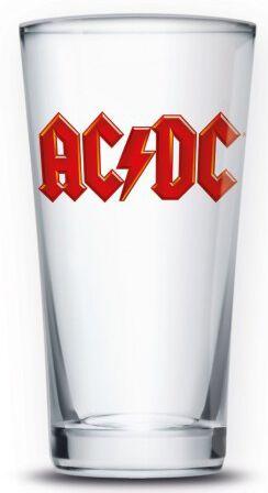 AC/DC AC/DC Logo Bierglas multicolor PGAC1