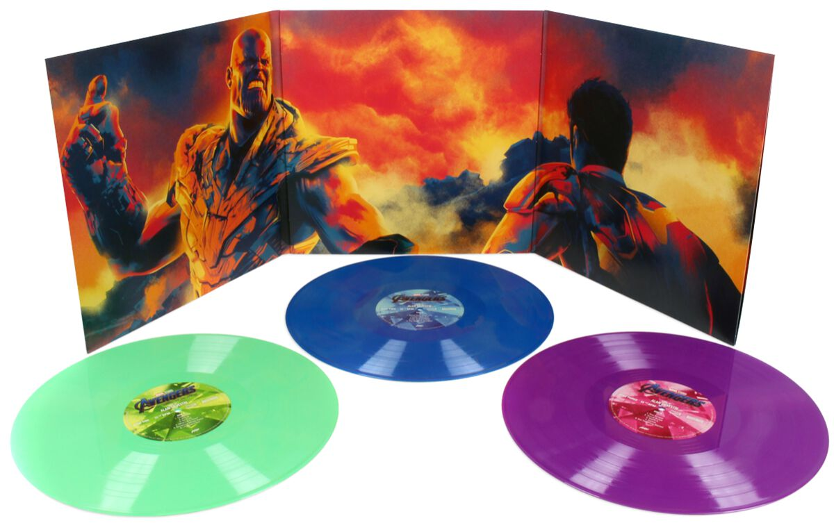 Image of Avengers Endgame - Original Soundtrack (Alan Silvestri) 3-LP multicolor