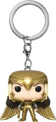 1984 - Wonder Woman Powerpose Pocket POP! Keychain