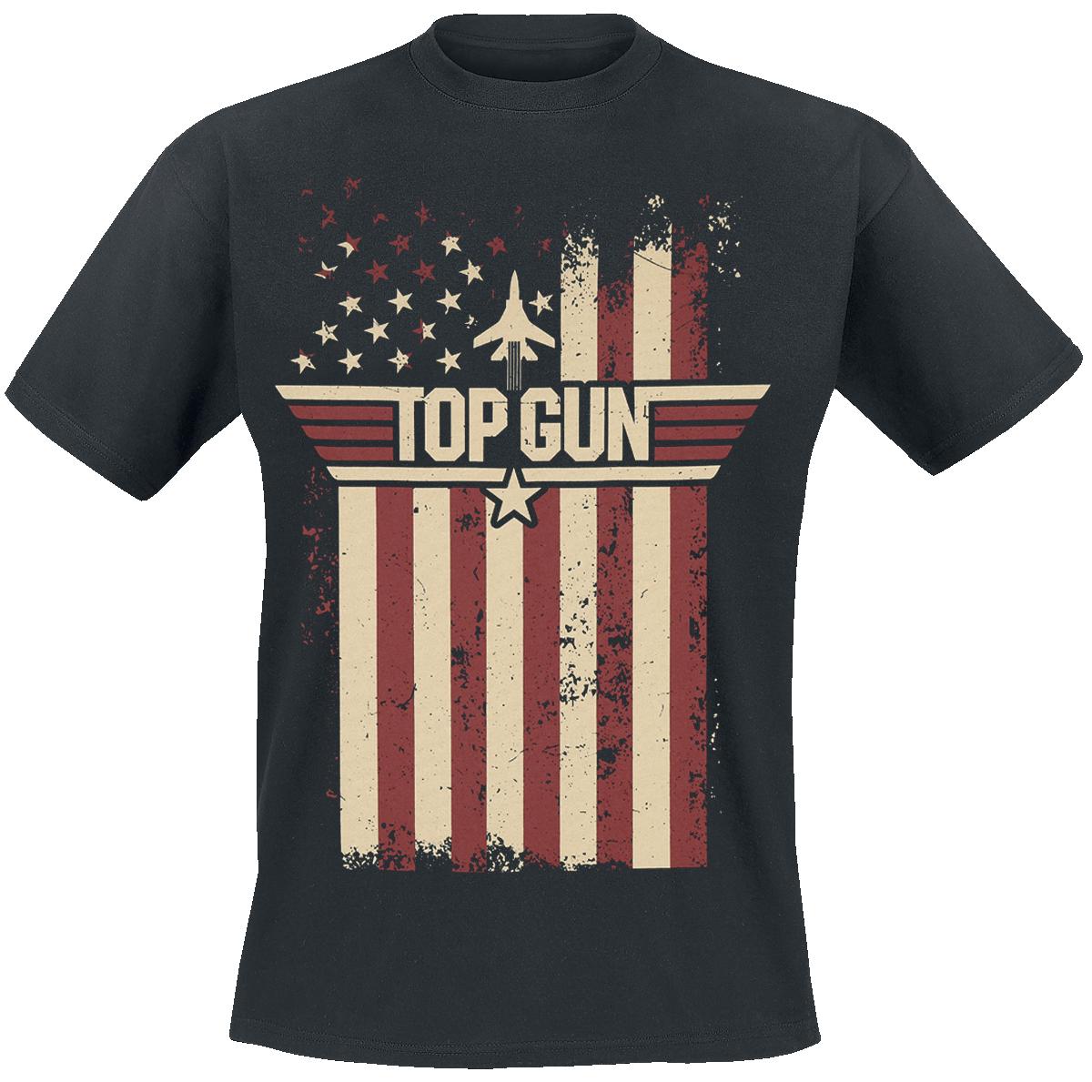 Top Gun - Flag - T-Shirt - black image