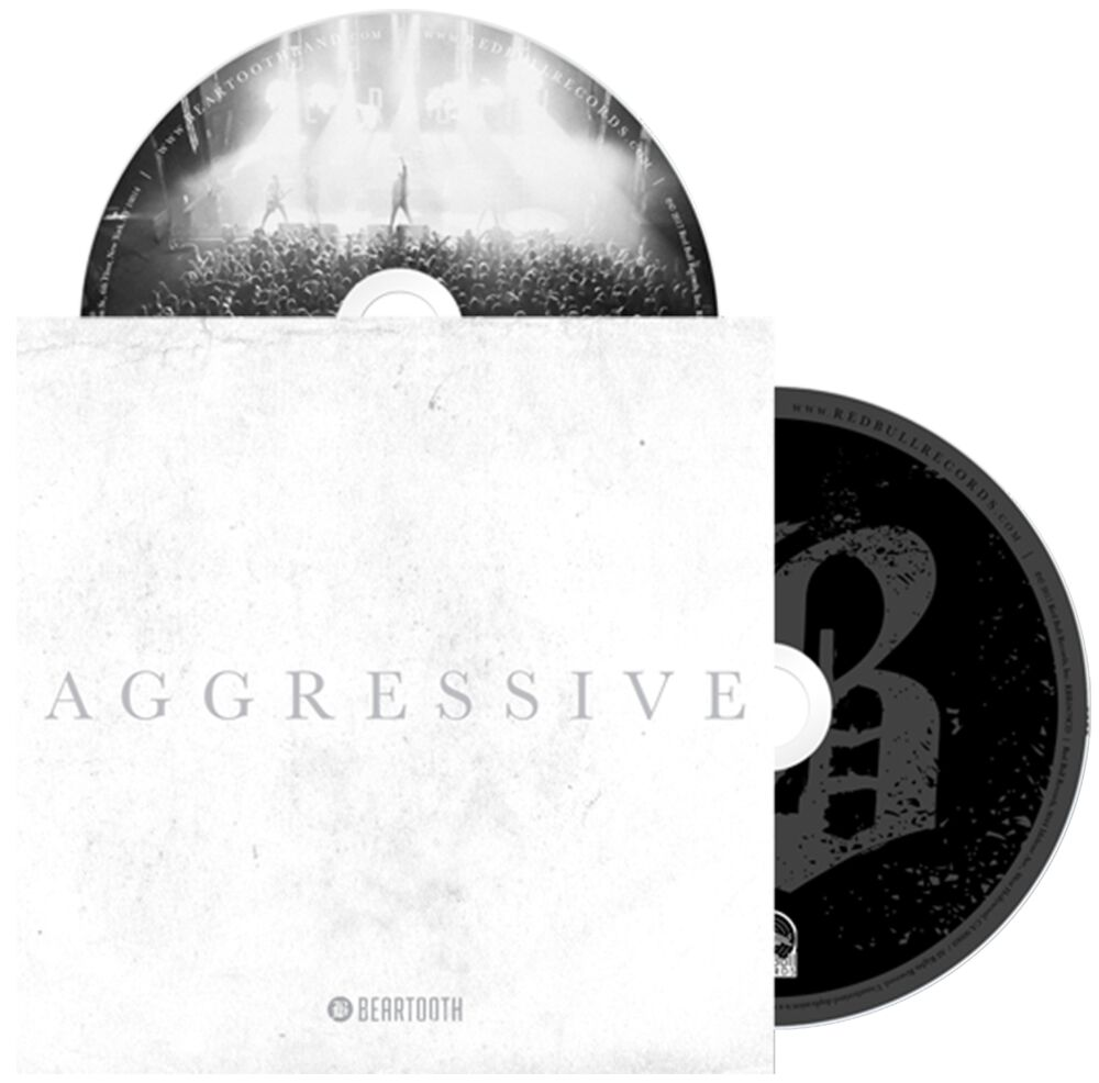 Image of Beartooth Aggressive CD & DVD Standard