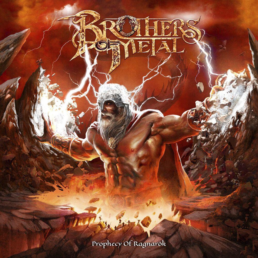Brothers Of Metal  Prophecy of Ragnarök  CD  Standard
