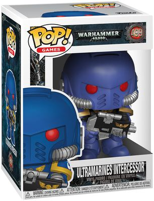 Warhammer 40.000 Ultramarines Intercessor Vinyl Figure 499