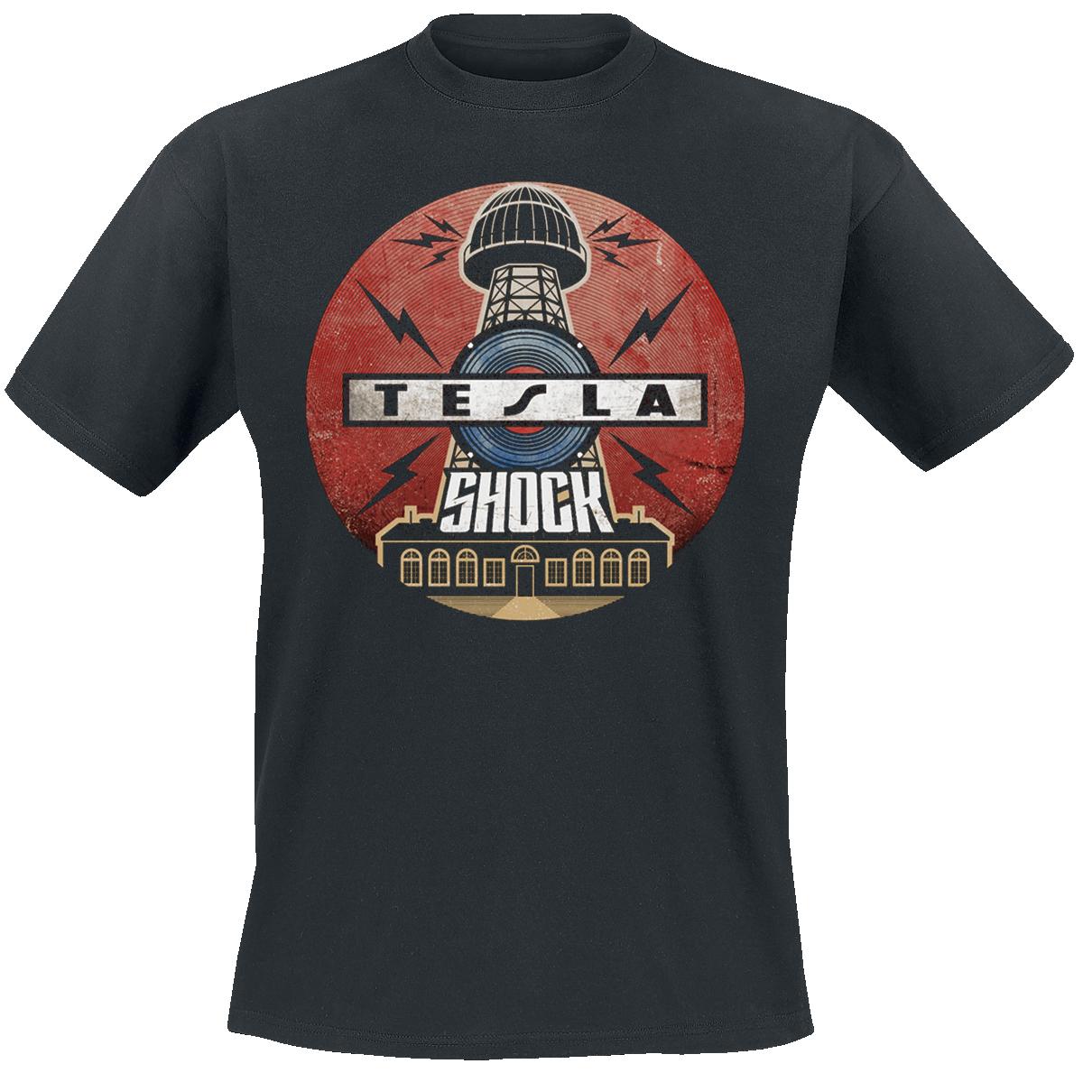Tesla - Shock Intinerary - T-Shirt - black image