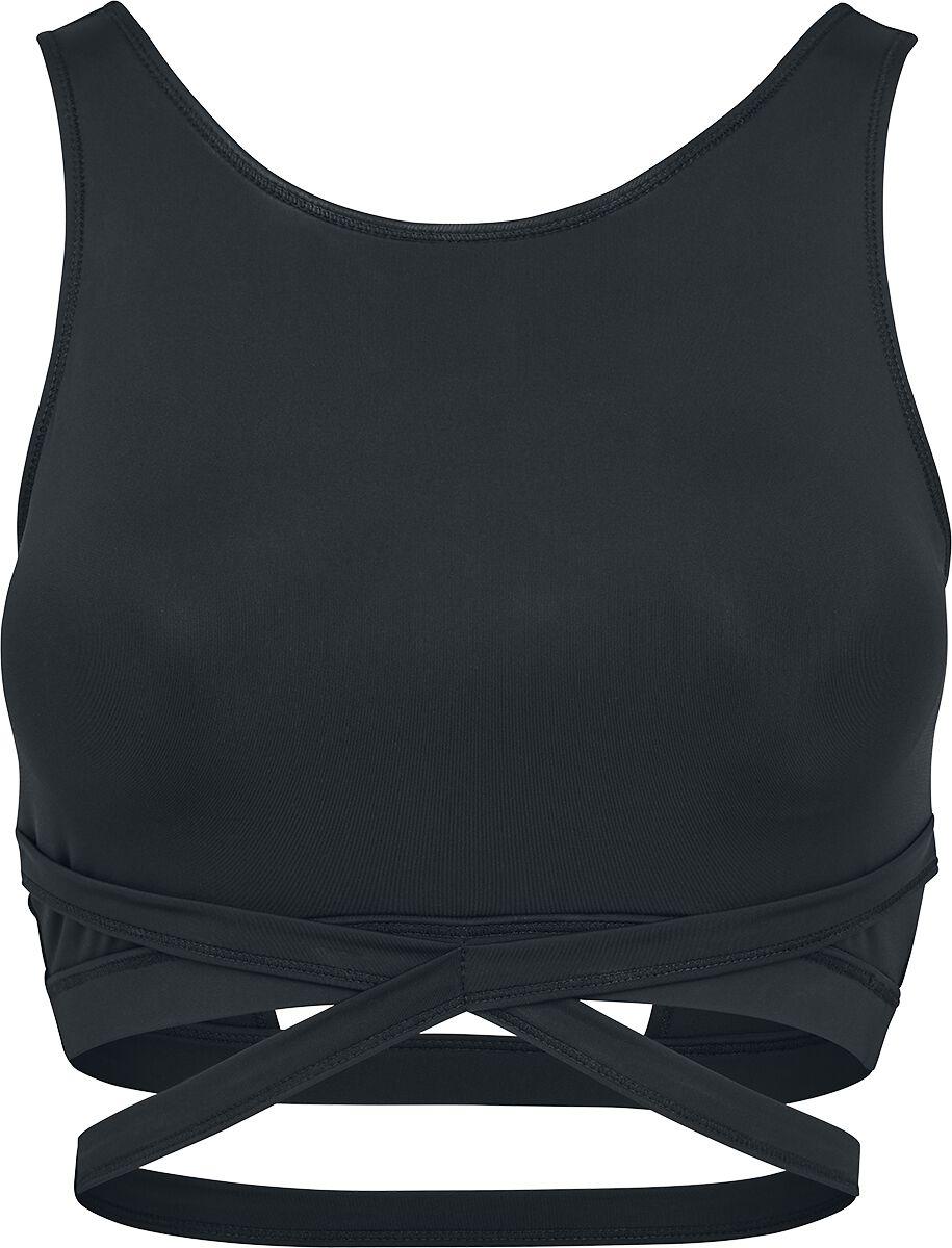 Waesche für Frauen - Urban Classics Ladies Active Fashion Bra Girl Unterwäsche schwarz  - Onlineshop EMP