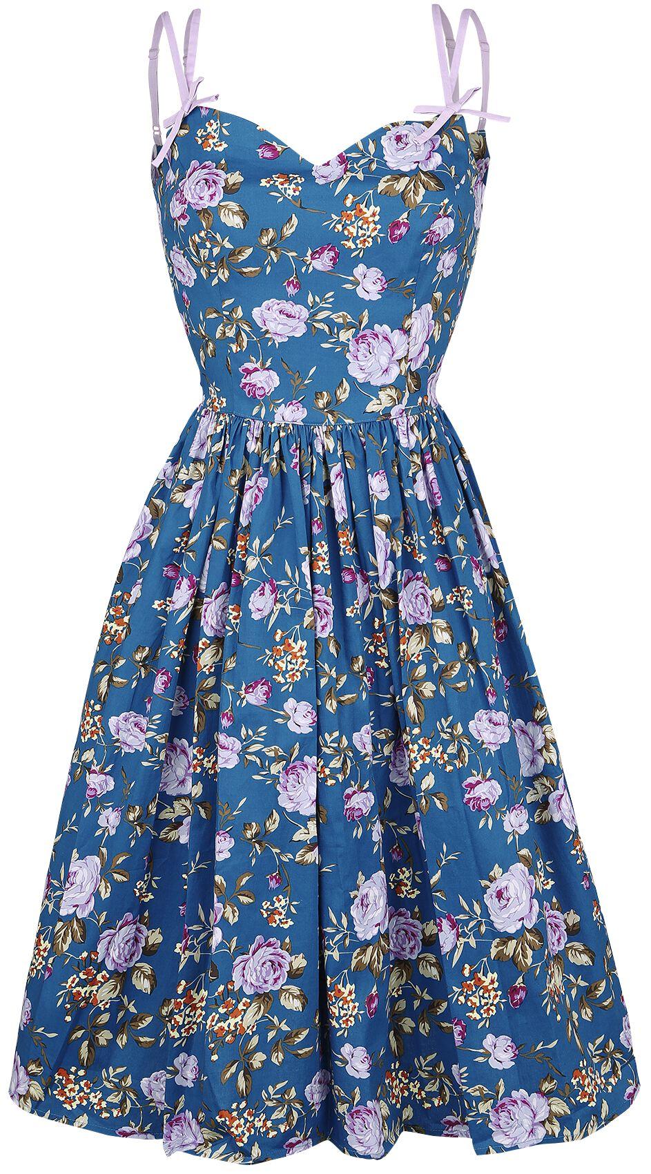 Kleider für Frauen - Hell Bunny Violetta 50's Dress Kleid multicolor  - Onlineshop EMP