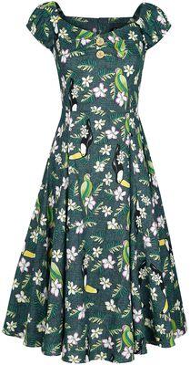 Dolores Tropical Bird Doll Dress