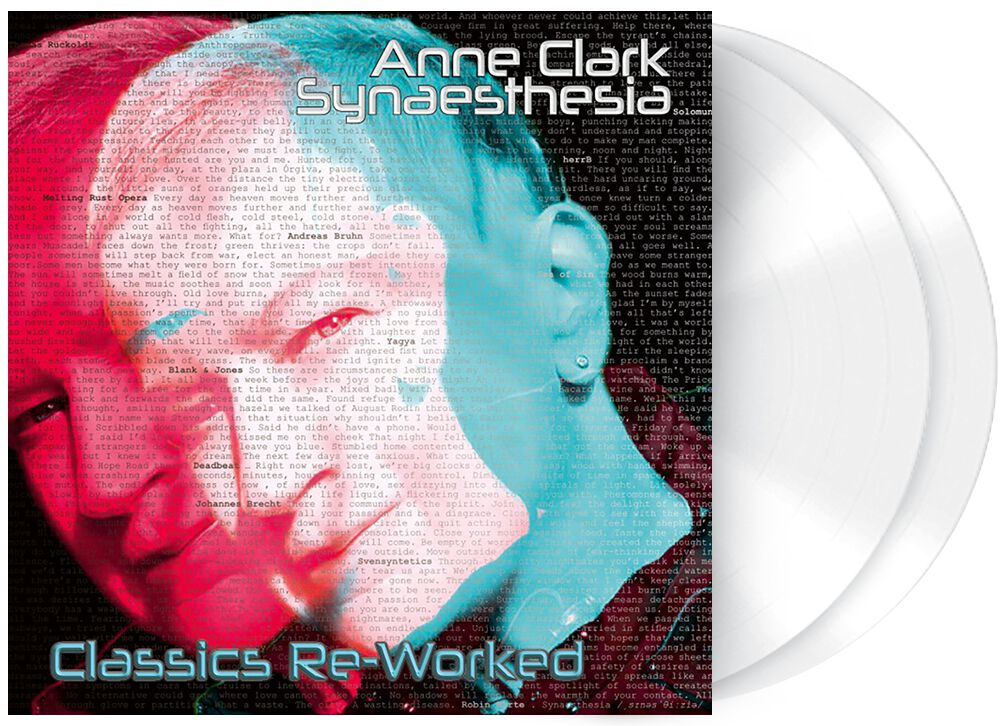 Image of Anne Clark Synaesthesia - Classics Re-Worked 2-LP weiß