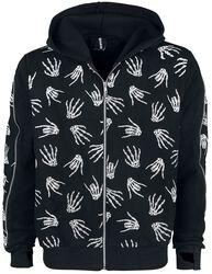 Black Skeleton Hands