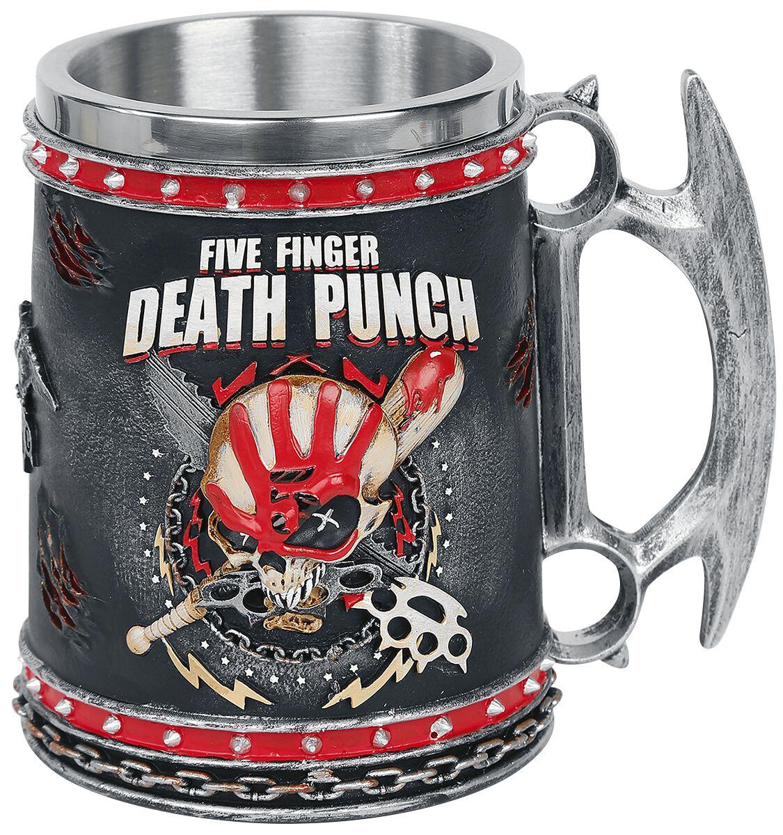 Image of Five Finger Death Punch Bierkrug multicolor