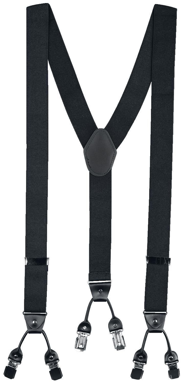 Banned Alternative - Rockabilly Braces - Hosenträger - schwarz