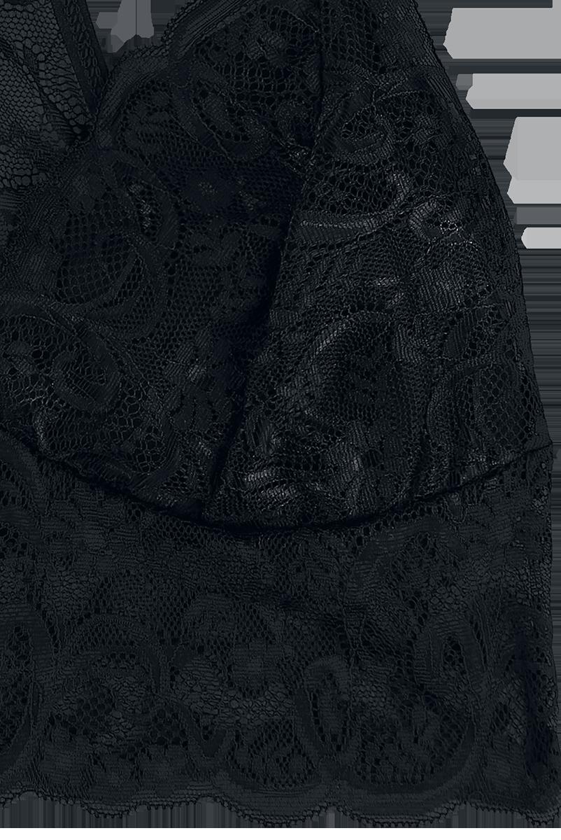 Image of Black Premium by EMP Whisper Bustier schwarz