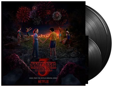 Image of Stranger Things Stranger Things: Music from the Netflix Original Series Season 3 2-LP & 7 inch Standard