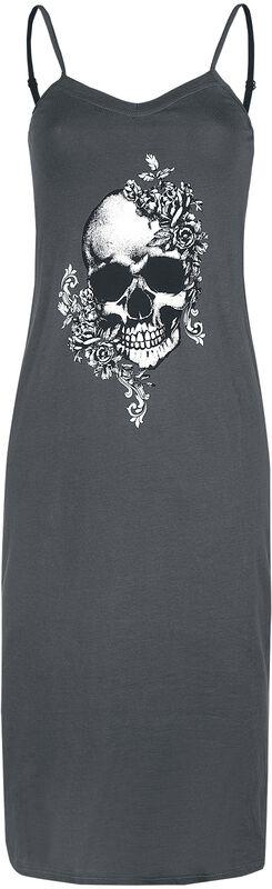 Nachthemd mit Skull-Print