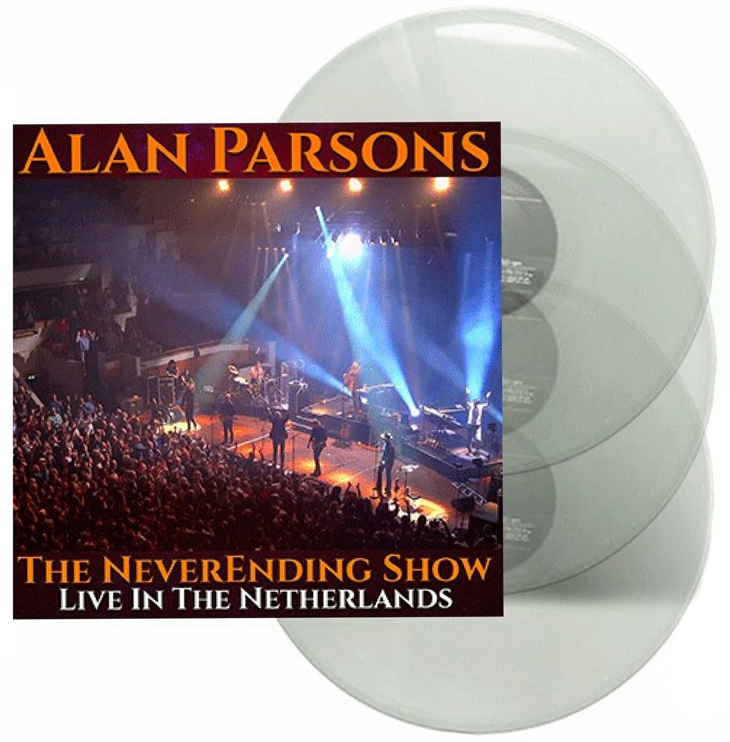 Image of Alan Parsons The neverending Show - Live in the Netherlands 3-LP farbig