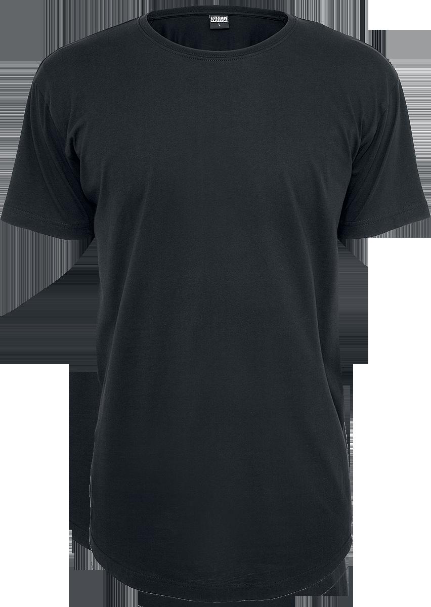 Urban Classics - Shaped Long Tee - T-Shirt - black image