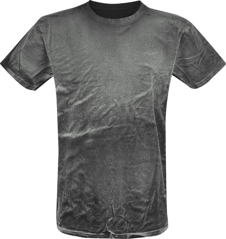 Spray Washed Black Shirt