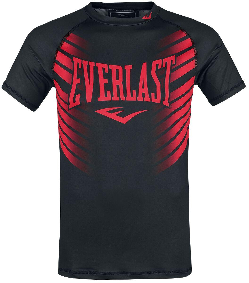 Everlast Hirataka T-Shirt schwarz rot 788500-60 red/black